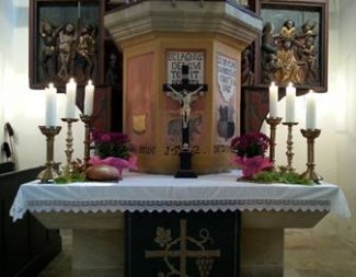 Altar in Peter und Paul